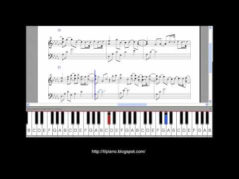 YIRUMA, MAYBE PIANO TUTORIAL (SLOW SPEED)