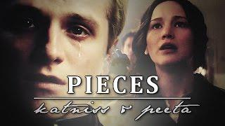 getlinkyoutube.com-Pieces | Katniss & Peeta