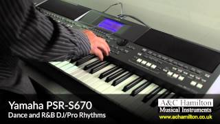 getlinkyoutube.com-Yamaha PSR-S670 Keyboard - A&C Hamilton