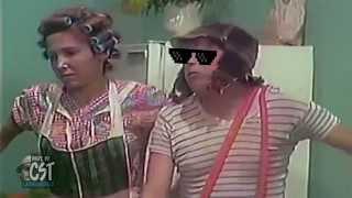getlinkyoutube.com-El Chavo del Ocho se pone los lentes ante la bruja del 71!
