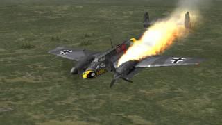 getlinkyoutube.com-IL-2 Sturmovik 1946 - Danger Zone Online Kills