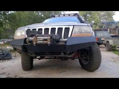 BUMPER Jeep Grand Cherokee WJ 4,7 V8
