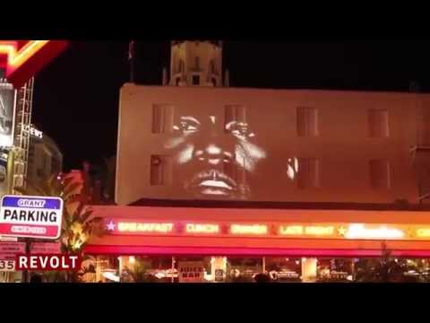 Kanye West Premieres #NewSlaves  Revolt TV