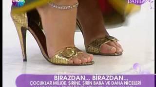 Çağla Şikel Feet