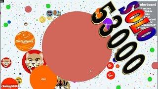 getlinkyoutube.com-Agar.io - Agar.io SOLO 53000 SCORE (AGARIO GAMEPLAY)