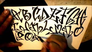 getlinkyoutube.com-graffiti alphabet -  tagging style