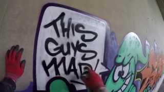 getlinkyoutube.com-Graffiti - Ghost EA - Characters & Letters