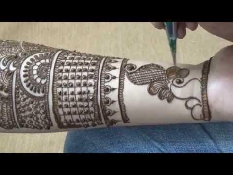 Full Hand Bridal Mehendi Design Vid 1:Best Dulhan Mehendi(Beautiful)