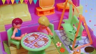 getlinkyoutube.com-لعبة البيت - ألعاب بنات بيت كامل داخل صندوق صغير!! Full Doll house inside a box