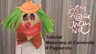 getlinkyoutube.com-Maschera da pagliaccio - tutorial Carnevale
