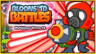 getlinkyoutube.com-Bloons TD Battles - RAY OF DOOM! $55,000 MAX LEVEL! - BTD Battles Epic Game