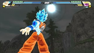 getlinkyoutube.com-Goku SSJGSSJ Oozaru VS Golden Freeza (Dragon Ball Z Budokai Tenkaichi 3 mod)