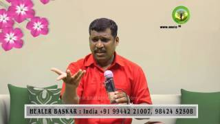 How to get black hair back?   Healer Baskar (Peace O Master)