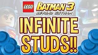 getlinkyoutube.com-LEGO Batman 3 - Infinite Studs!!