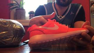 getlinkyoutube.com-NIKE ROSHE HYPERFUSE Unboxing, Aliexpress. 3 pairs.