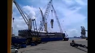 Windmill Blade Tandem Crane Lift