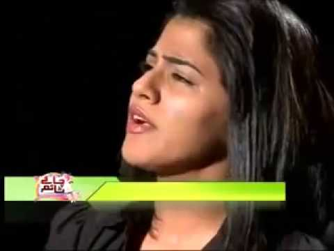 Quratulain Balouch (QB) singing LIVE in CNBC TV Show
