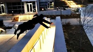 getlinkyoutube.com-The Parkour Ninja - Out of Nature