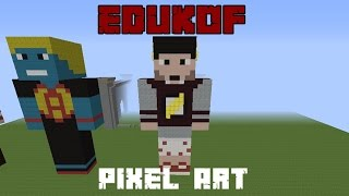 getlinkyoutube.com-Como Fazer a PixelArt EduKof  3D - - Am3nic