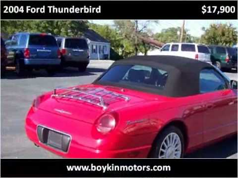 2004 Ford Thunderbird Problems Online Manuals And Repair