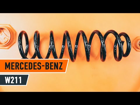 Как да сменим задна пружина за ходовата част наMERCEDES-BENZ E W211 ИНСТРУКЦИЯ   AUTODOC