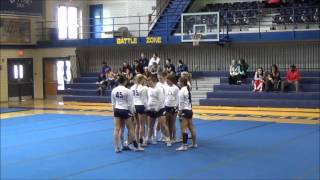 getlinkyoutube.com-Alderson Broaddus University vs Adrian College Acrobatics and Tumbling event 3-30-14