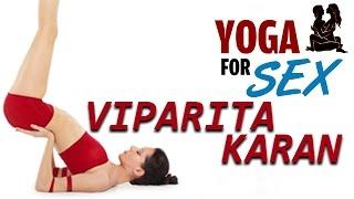 getlinkyoutube.com-Viparita Karani Mudra - Better Sex Through Yoga - Yoga Asanas - Upside Down Seal Pose