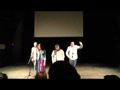 Azusa Pacific University's Slam Poetry Group 2012