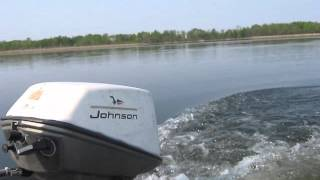 getlinkyoutube.com-1967 Johnson 6hp outboard motor