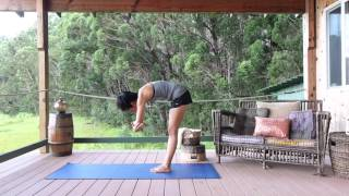 getlinkyoutube.com-2 Yoga Poses to Improve Your Golf Swing by Marin