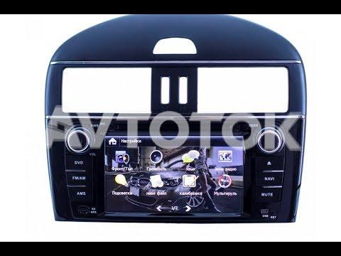 Штатная магнитола для Nissan Tiida (2011-2014) Windows CE NITI-14