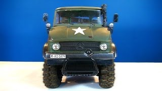 getlinkyoutube.com-RC ADVENTURES - MERCEDES-BENZ Military UNiMOG 406 Series - U900 - (CC01 Chassis) Unboxing