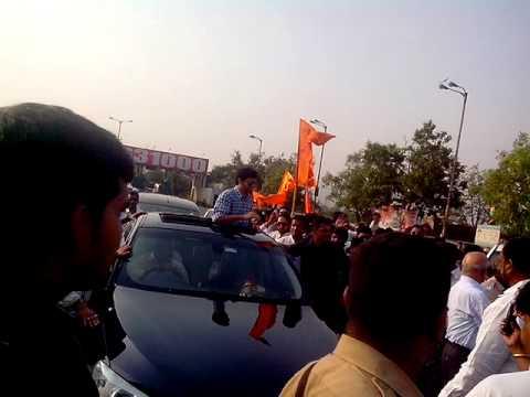 Aditya thackeray welcome to navi mumbai 02