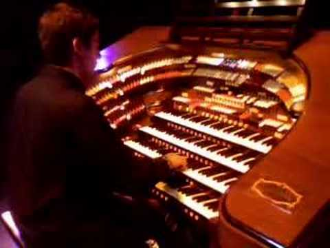 Mark Herman at the Mighty Wurlitzer Theatre Organ