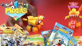 getlinkyoutube.com-LEGO Mixels Series 5 Opened: Klinkers, Frosticons & Lixers