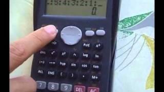 getlinkyoutube.com-Casio Calculator BAM!!! Trick