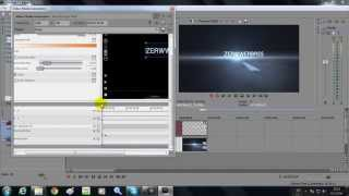 getlinkyoutube.com-วิธีการทำ ไตเติล (Intro) | Linear Blur + SFX Text | 2 | Sony Vegas Pro