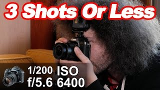"""How To Get The Perfect Exposure In """"3 Shots Or Less"""" #05: Using An """"EVF"""" To Capture Motion Blur"""