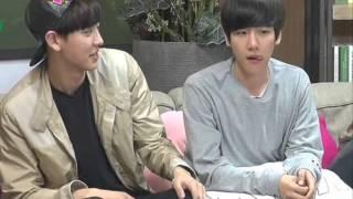 getlinkyoutube.com-[RM] Chanbaek - โมเม้นน่ารักๆในรายการรูมเมท♡