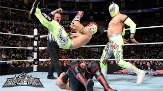 getlinkyoutube.com-The Lucha Dragons vs. The Ascension: WWE Superstars, March 13, 2015