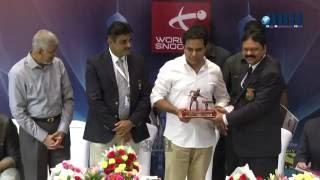 K.Taraka Rama Rao Industries Minister (KTR )