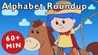 getlinkyoutube.com-Alphabet Roundup and More | Nursery Rhymes from Mother Goose Club!