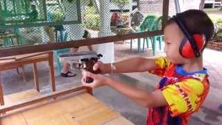 getlinkyoutube.com-ทดสอบ ยิงปืน gun blank zoraki mod914 ต่อ ศุภกร