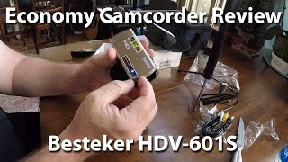 getlinkyoutube.com-Budget Camcorder Review - Besteker HDV-601S