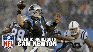 getlinkyoutube.com-Cam Newton Highlights (Week 8) | Colts vs. Panthers | NFL