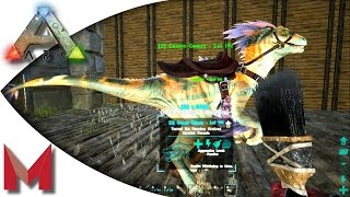 ARK: Survival Evolved - ARKPnt panting guide / painting dinos! S2E86 Gameplay