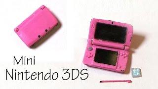 getlinkyoutube.com-Miniature Nintendo 3DS XL (That Opens) - Polymer Clay Tutorial