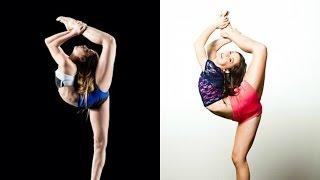 getlinkyoutube.com-Brooke and Kalani's Similar Moves/Tricks