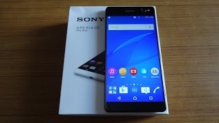 getlinkyoutube.com-Sony Xperia C5 Ultra Unboxing