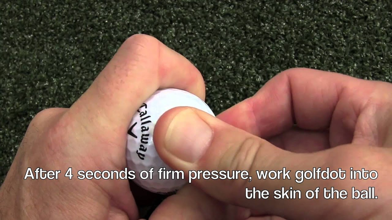 En gnuggis för golfbollar – en genialiskt enkel idé. -Michael Broström